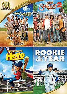 SANDLOT/SANDLOT 2/EVERYONE'S HERO/ROO
