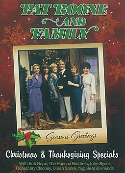 PAT BOONE & FAMILY:CHRISTMAS & THANKS