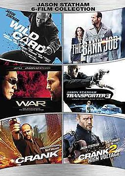 JASON STATHAM 6 FILM COLLECTION