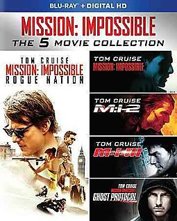 MISSION:IMPOSSIBLE 5 MOVIE COLLECTION