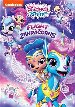SHIMMER AND SHINE:FLIGHT OF THE ZAHRA