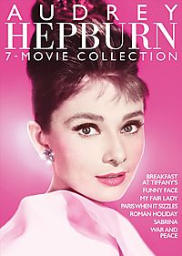 AUDREY HEPBURN 7 FILM COLLECTION