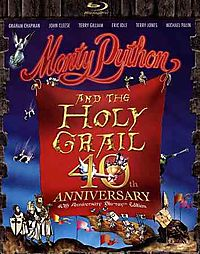 MONTY PYTHON AND THE HOLY GRAIL (40TH