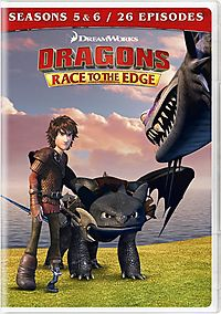 DRAGONS:RACE TO THE EDGE SEASONS 5 &