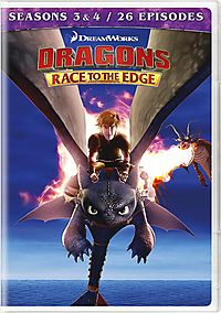 DRAGONS:RACE TO THE EDGE SEASONS 3 &