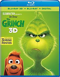 DR SEUSS THE GRINCH 3D