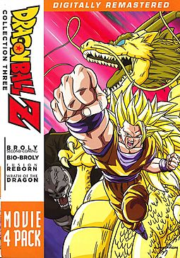 DragonBall Z: Movie 4 Pack - Collection Three