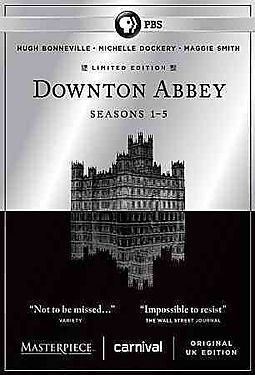 MASTERPIECE:DOWNTON ABBEY SSNS 1-5