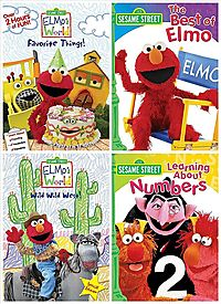 ELMO'S WORLD:ELMO'S FAVORITE THINGS/E