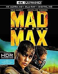 MAD MAX:FURY ROAD (4K ULTRA HD)